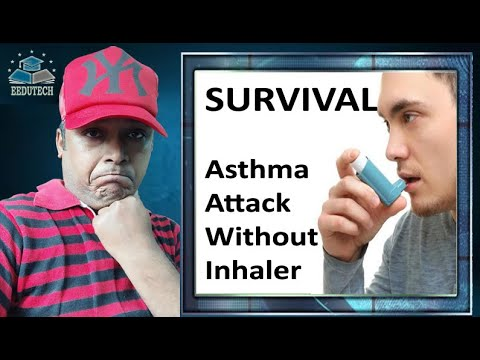 Survive an Asthma attack without inhaler - Daily Health Tips