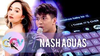 Nash Aguas sends a text message to Mika as a punishment | GGV