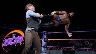 Cedric Alexander vs. Gentleman Jack Gallagher: WWE 205 Live, Oct. 3, 2017
