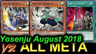 YGOPRO】INFERNO TEMPEST DECK *september 2018*
