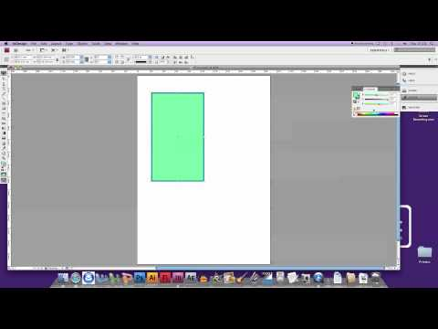 InDesign CS4 - Borders and Fills