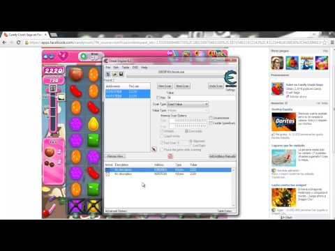 Hack Candy Crush Saga w- Cheat Engine 6.2