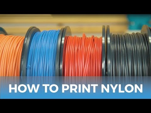 How to Succeed When 3D Printing with Nylon Filament // 3D Printing Tutorial
