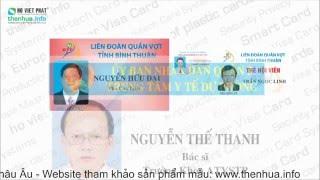 In thẻ nhựa - thẻ nhân viên- thẻ nhân viên công nhân viên chức | Thẻ nhựa Hồ Việt Phát
