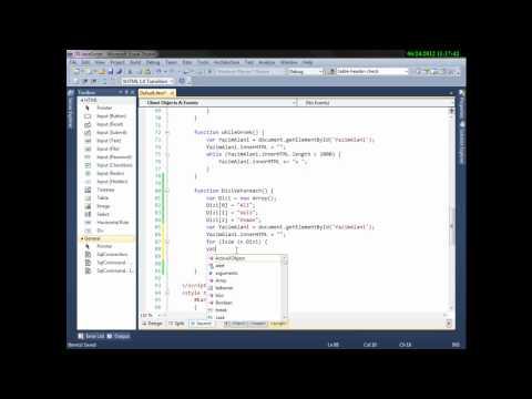 C# ASP.Net JavaScript Part 2 - Cemal Can AKGÜL