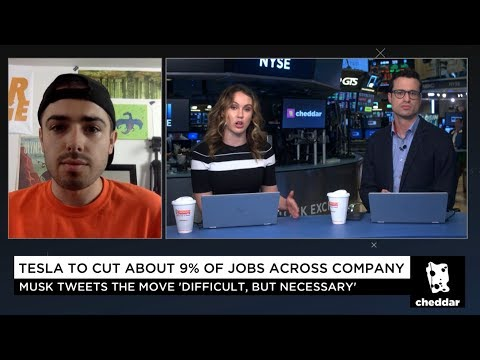 OMG! Tesla Lays Off 9% Of Workforce 😱 Cheddar 🧀