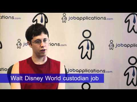 Disney Interview - Walt Disney World Custodian