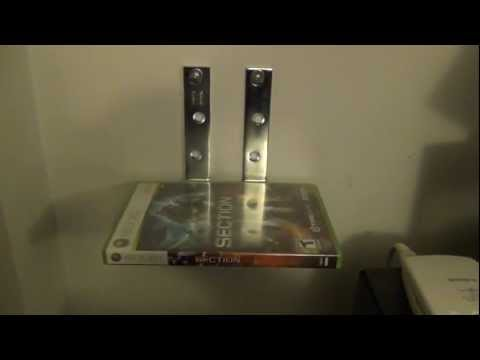 How to Make a Floating Xbox or DVD Shelf (UPDATE)