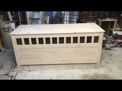 Making a Dog Crate Table