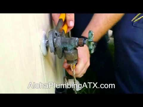 How to Replace a Hose bib On Outside of Your House