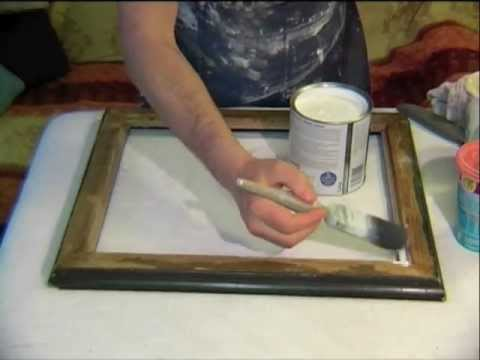 How to create your own gorgeous shabby chic finish for a mirror or frame - Sulis Mirrors of Bath