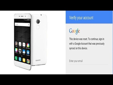 Coolpad Note 3 8298 i00 Gmail Bypass EAZY 100%