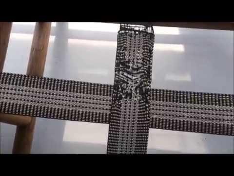 DIY Reweb Bamboo Patio furniture elastic re webbing