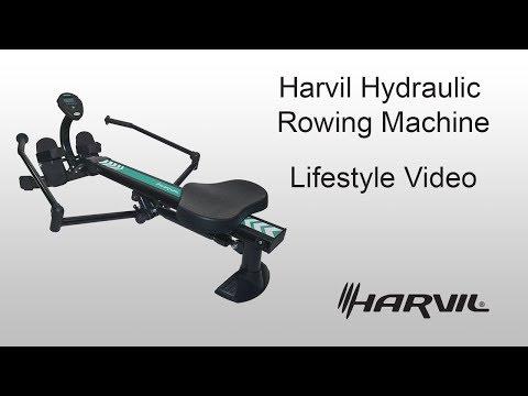 Lifestyle Video | Harvil Hydraulic Resistance Rowing Machine | Dazadi.com