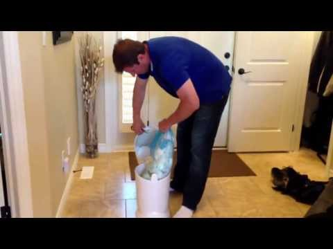 How to win the fight with the diaper genie!