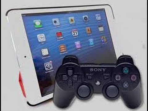 Use a Dualshock 3 (PS3) controller with an iPad