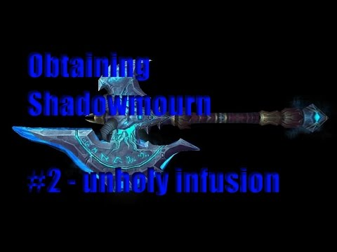 Unholy infusion SOLO guide - Obtaining shadowmourne #2 (ICC legendary quest line guide)