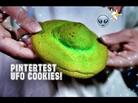 PINTERTEST- UFO COOKIES!
