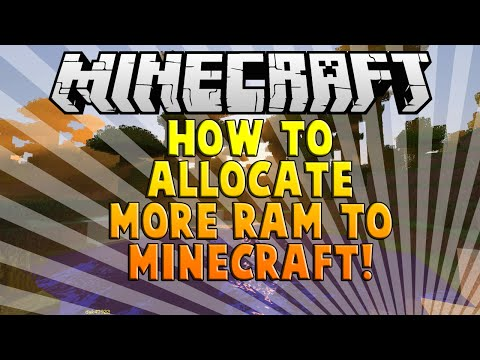 How to Allocate more ram to Minecraft! [1.8.3] [EASY] [FAST]
