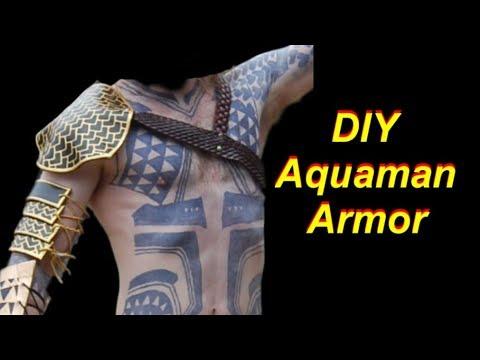How to Make an Aquaman Costume: Armor