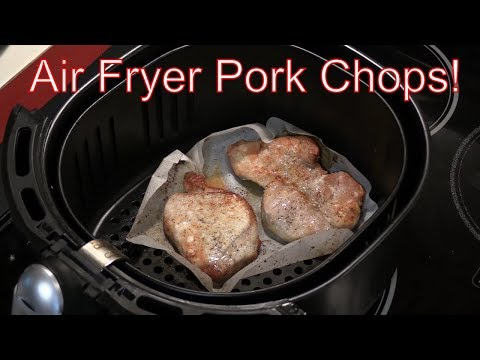 GoWISE USA Air Fryer - Episode X - Pork Chops