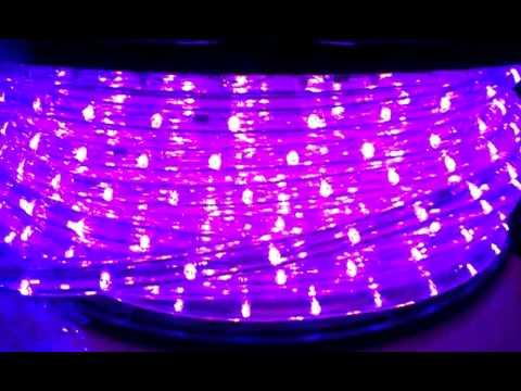 Black UltraViolet UV Led Rope Light
