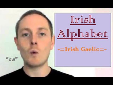 Irish Language Alphabet