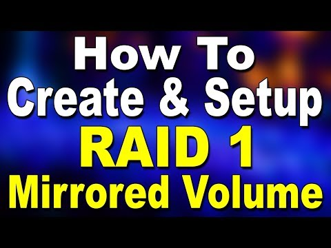 How To Create RAID 1? (Hindi)