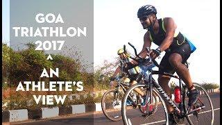 The Goa Triathlon - An Athlete's Swim-Cycle-Run View (GoPro POV)