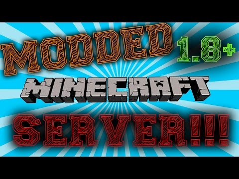How to Create a Modded Server for Minecraft 1.8+ - Works for Cracked version