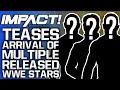 IMPACT Wrestling Teases Arrival Of MULTIPLE Released WWE Superstars