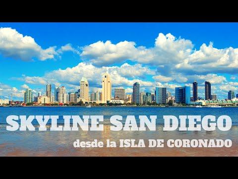 SKYLINE SAN DIEGO - Desde la Isla de Coronado
