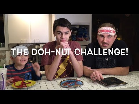 The Doh-Nut (donut) Challenge