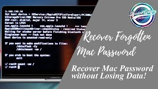 Reset Mac S Password Without Losing Data Easy No Disc