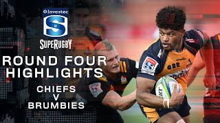 ROUND 4 HIGHLIGHTS | Chiefs v Brumbies - 2020