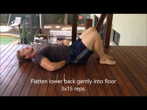 Exercises For Lower Back Spasm