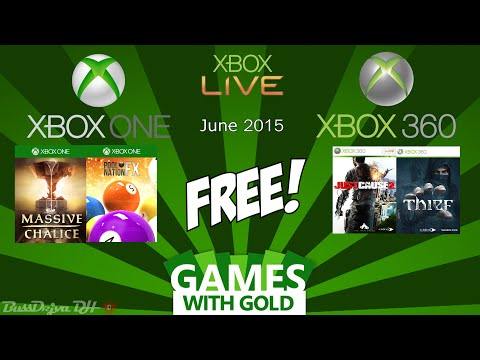 Xbox Free Games with Gold - June 2015 - Xbox One & Xbox 360
