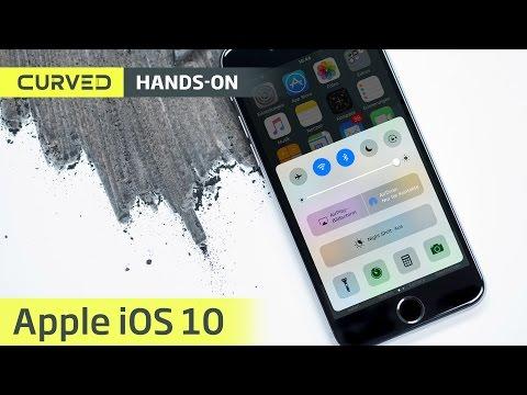 iOS 10 (Beta 1) im Rundgang: iMessage, Lockscreen-Widgets und mehr    deutsch