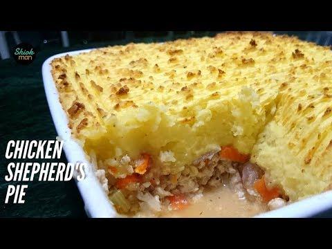 Shiokman Shepherd's Pie but with Chicken instead of Lamb