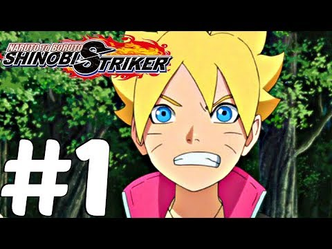 Naruto to Boruto Shinobi Striker (PS4) - Gameplay Walkthrough Part 1 - Full Beta [1080p 60fps]