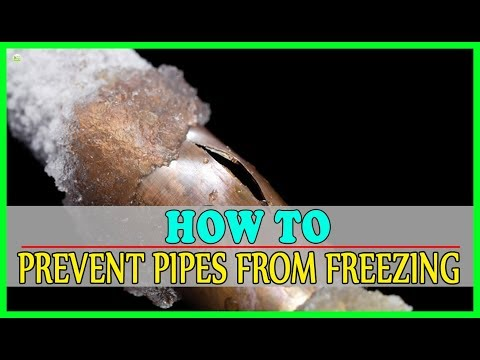 How To Prevent Your Pipes From Freezing In Winter? - Frozen Pipes Prevention | Best Home Remedies