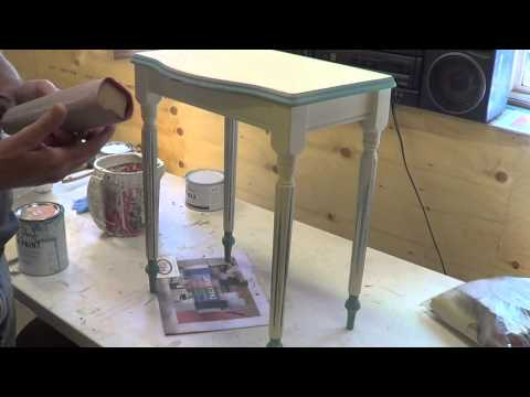 Creating a French Provincial Look wit Chalk Paint