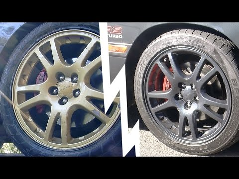 How to paint your wheels