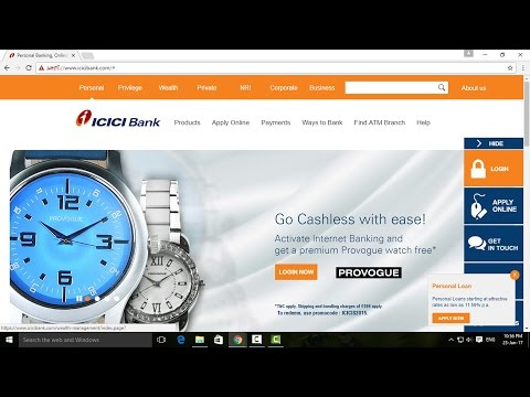 How to Register ICICI Bank Internet Banking Service - Tamil Banking