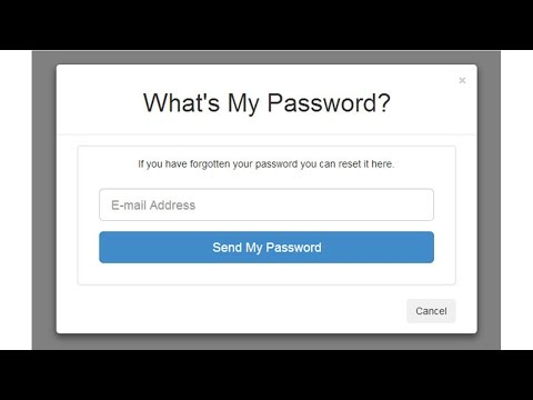12) Validating User Entries For Forgot Password Screen - Secure PHP Login System