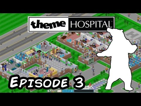 Theme Hospital Episode 2 - Let's play with the Polar Bear