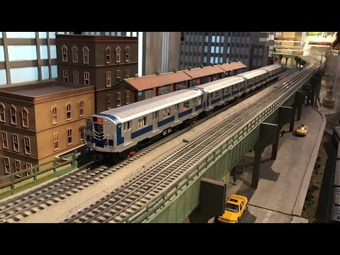 New York Transit Museum 2016 Grand Central Holiday Train Show (HD 60fps)