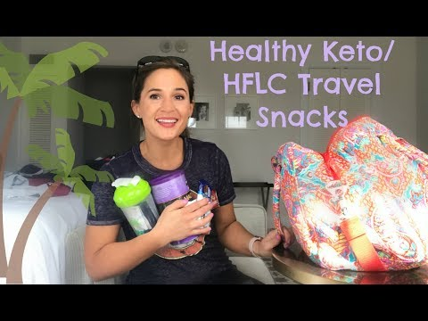 Healthy Keto Travel Snacks | HFLC Carry On Bag