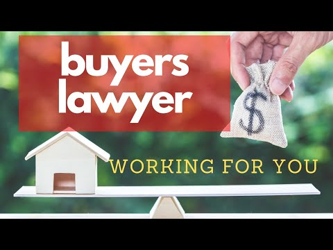 Role of a Lawyer when Buying a home.