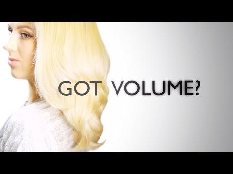 How To: Voluminous Hair with Straightener Tutorial   Milabu